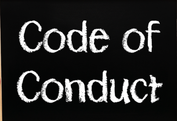 Does your chapter enforce a code of conduct in your chapter?