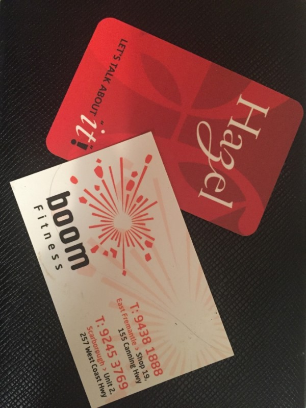 Let your business card speak for you
