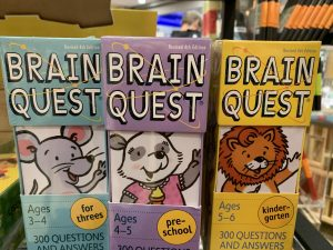 Brain quest games for ideas.